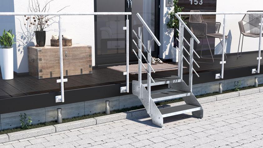 Treppen-Vision - Hochwertige Stahlwangentreppe vom erfahrenen Experten