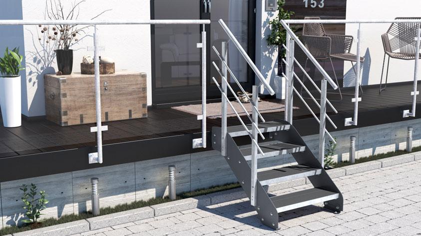 Treppen-Vision - Eisentreppe