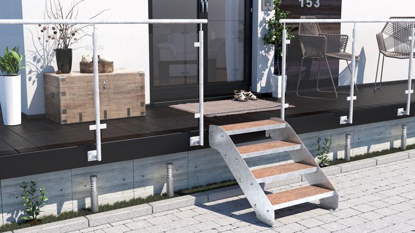 Treppen-Vision - Wangentreppe